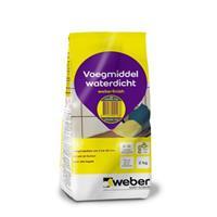 Praxis Weber finish voegmiddel antraciet 2kg