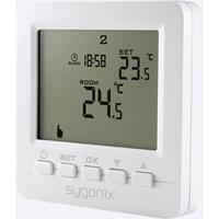 sygonix Kamerthermostaat Inbouw (in muur) Weekprogramma 5 tot 35 °C