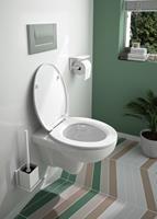 allibert Softclose WC Bril KALEO 375x55x448mm Glanzend Wit