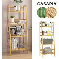 Casaria stelling bamboe 123x48x32cm
