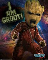 Pyramid Guardians of the Galaxy Vol 2 Angry Groot Poster 40x50cm