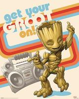Pyramid Guardians of the Galaxy Vol 2 Get Your Groot On Poster 40x50cm
