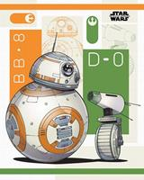 Pyramid Star Wars The Rise of Skywalker BB-8 and D-0 Poster 40x50cm