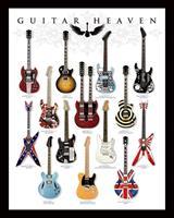 Pyramid Guitar Heaven Poster 40x50cm