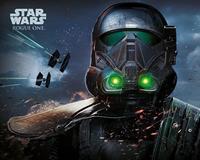 Pyramid Star Wars Rogue One Death Trooper Glow Poster 50x40cm
