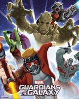 Pyramid Guardians Of The Galaxy Burst Poster 40x50cm