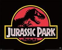 Pyramid Jurassic Park Classic Logo Poster 50x40cm