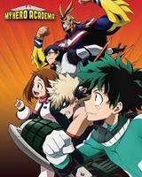 Pyramid My Hero Academia Heroes to Action Poster 40x50cm