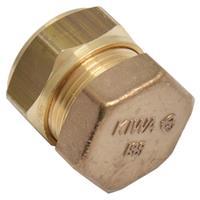 Sanivesk knelfitting eindkap 12 mm V