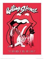 Pyramid The Rolling Stones Its Only Rock n Roll Kunstdruk 30x40cm