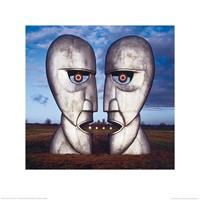 Pyramid Pink Floyd The Division Bell Kunstdruk 40x40cm