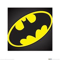 Pyramid DC Comics Batman Symbol Kunstdruk 40x40cm