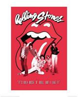 Pyramid The Rolling Stones Its Only Rock n Roll Kunstdruk 40x50cm
