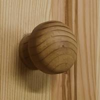 vidaXL Ladekast 75x35x80,5 cm massief grenenhout