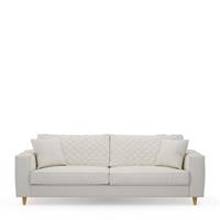 Rivièra Maison 3,5-zits Bank 'Kendall' Oxford Weave, kleur Alaskan White