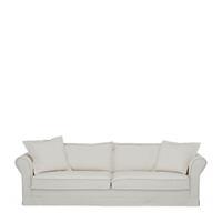 Rivièra Maison 3,5-zits Bank 'Carlton' Oxford Weave, kleur Alaskan White