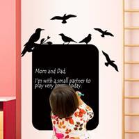 Dikkere Schoolbord Plakken Muurstickers Woonkamer Decoratie Stickers Kinderkamer Kantoor Effen Kleur Muurstickers
