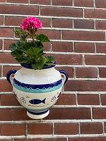 Hangpot.nl Hangpot Peces Azul