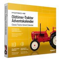 Franzis adventkalender Porsche Classic Traktor geel 24 delig