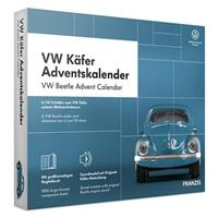 Franzis adventkalender Volkswagen Kever blauw 24 delig (DU/en)