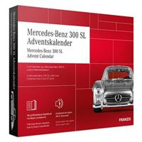 Franzis adventkalender Mercedes Benz 300 SL rood 24 delig