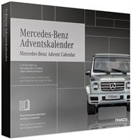 Franzis adventkalender Mercedes Benz zilver 28 delig (DU/en)