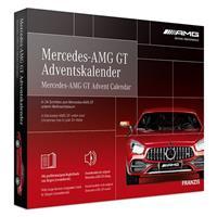 Franzis adventkalender Mercedes AMG GT rood 24 delig