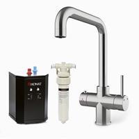 HOWAT 3-in-1 kokendwaterkraan RVS