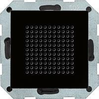 Gira luidspreker voor RDS radio zwartglas look 228205