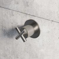 Hotbath Chap inbouw stopkraan geborsteld nikkel