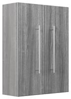 Saniclear Large Kolomkast grijs eiken 53x70