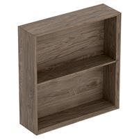 Geberit iCon kast open 45x46,7 cm, noten hickory