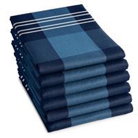 DDDDD Theedoek Feller Blue (6 stuks)
