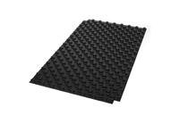 Vloerverwarmingzelfleggen Noppenplaat NOP 0 zonder isolatie