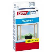 Vliegen/insecten Opzet Raam Hor 1,3 X 1,1 M - Tesa Insecten Werende Hordoeken Met Klittenband