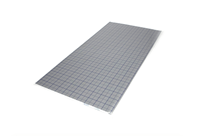 Vloerverwarmingzelfleggen Tackerplaat EPS isolatie rasterfolie 2x1m met 20mm isolatie