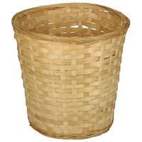 Ronde Rieten/bamboe Manden/mandjes 26 X 24 Cm - Keuken Artikelen Opberg Manden - Huis Decoratie/accessoires