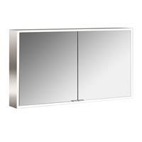 Emco Asis prime spiegelkast 120 cm met 2 deuren en LED-verlichting, aluminium