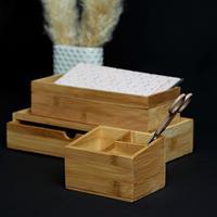 Home24 Bamboe-box Terra IV (set van2), WENKO