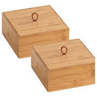Home24 Bamboe-box Terra II (set van 2), WENKO