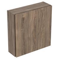 Geberit iCon bovenkast 1 deur ondiep 45x46,7 cm, noten hickory