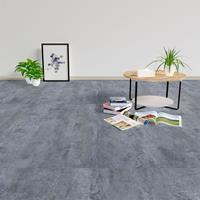 vidaXL Vloerplanken 20 st zelfklevend 1,86 m² PVC grijs marmerpatroon
