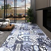 vidaXL Vloerplanken 20 st zelfklevend 1,86 m² PVC gekleurd patroon