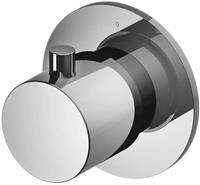 Hotbath Cobber CB7068EXT afbouwdeel voor stopkraan geborsteld nikkel