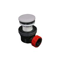 Mondiaz Easy klikplug met sifon ruimtebesparend Solid Surface - Cale