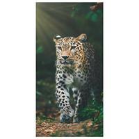 Merkloos Animal Pictures Strandlaken Luipaard - 70 X 140 Cm - Katoen