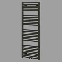 Blinq Altare R handdoekradiator 140 x 60 cm (H X L) mat zwart