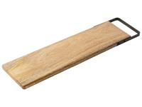 Dry FLWRS Mango serveerplank met hendel 50x13