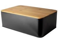 Dry FLWRS Broodtrommel Mat zwart