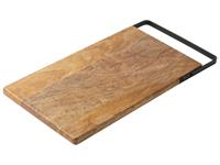 Dry FLWRS Mango serveerplank met hendel 40x20